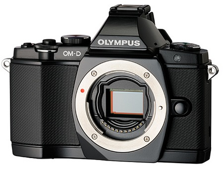 Olympus OM-D E-M5 Micro Four Thirds Camera no lens