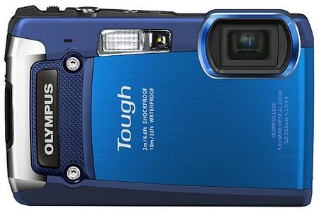 Olympus TOUGH TG-820 iHS Rugged Camera blue