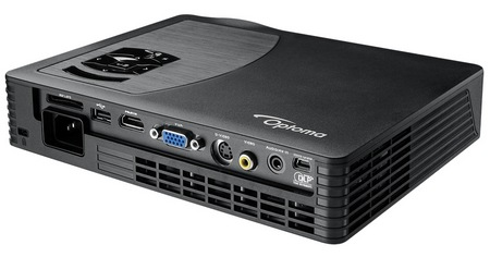 Optoma ML500 Ultra-portable Business Projector with 500 Lumens connectors