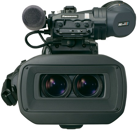Panasonic AG-3DP1 Twin-lens 3D P2 HD Shoulder-mount Camcorder front