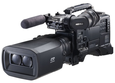 Panasonic AG-3DP1 Twin-lens 3D P2 HD Shoulder-mount Camcorder