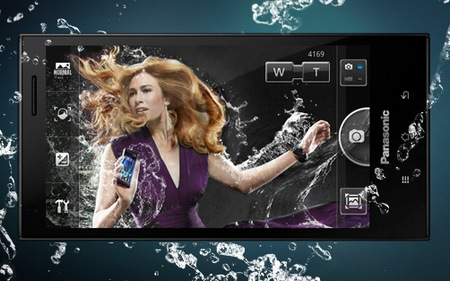 Panasonic ELUGA Waterproof Smartphone screen