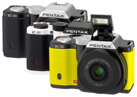 Pentax K-01 Interchangeable Lens Camera Designed by Marc Newson colors
