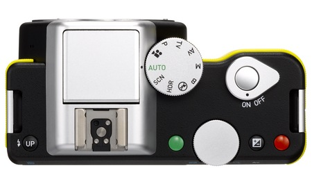 Pentax K-01 Interchangeable Lens Camera Designed by Marc Newson top
