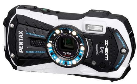 Pentax Optio WG-2 GPS Rugged Digital Camera white