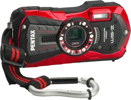 Pentax Optio WG-2 Rugged Digital Camera Vermillion Red
