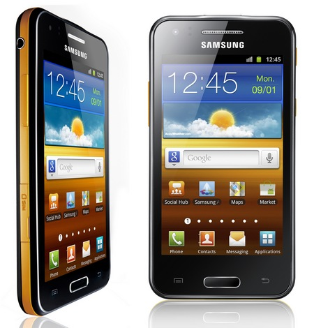 Samsung Galaxy Beam Dual-core Projector Smartphone 4
