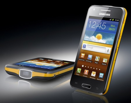 Samsung Galaxy Beam Dual-core Projector Smartphone