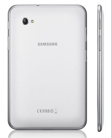 Samsung Galaxy Tab 7.0 Plus N Tablet back side
