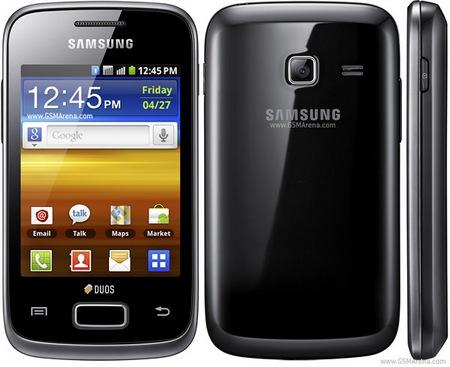 Samsung Galaxy Y DUOS Dual-SIM Android Phone