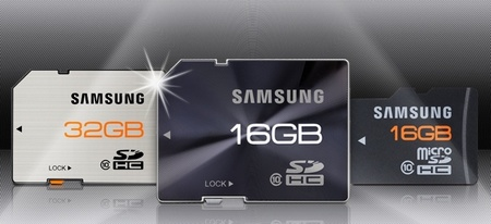 Samsung High Speed Series and Plus Extreme Speed Series Rugged SDHC and microSD Memory Cards