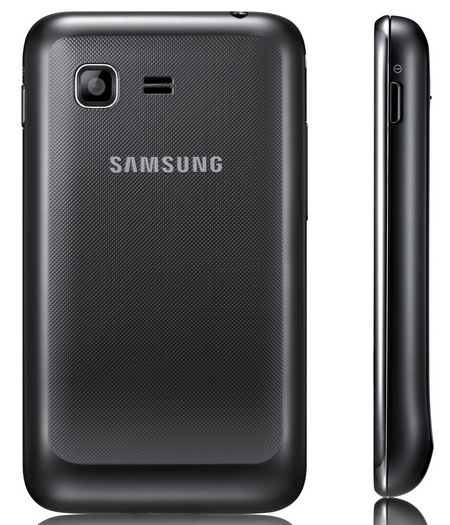 Samsung Star 3 and Star 3 DUOS Bada Mobile Phones side back