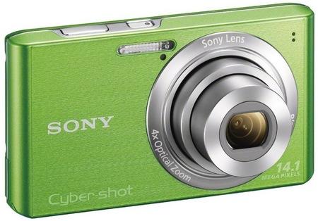 Sony Cyber-shot DSC-W610 digital camera green