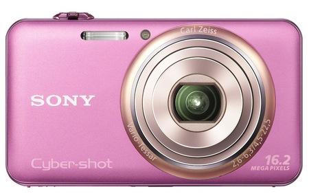 Sony Cyber-shot DSC-WX70 digital camera pink