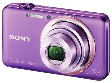 Sony Cyber-shot DSC-WX70 digital camera violet