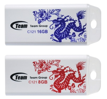 TEAM C121 USB Flash Drive for the Year of the Dragon