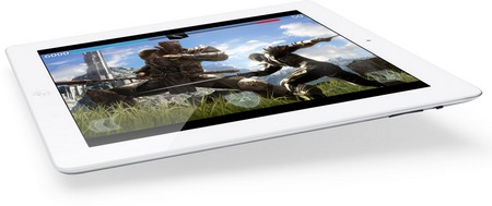 Apple announced the new iPad - A5X CPU, Retina Display and LTE 4G gaming
