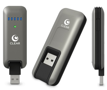 Clearwire CLEAR Stick Atlas USB 4G Modem1