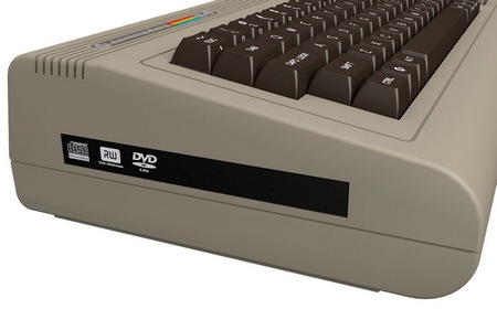 Commodore C64x Keyboard PC blu-ray