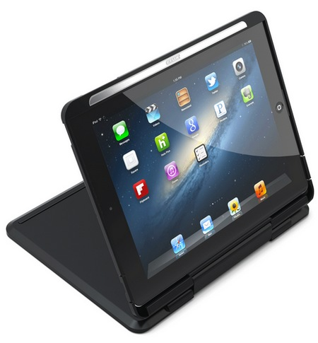 CruxCase Crux360 Keyboard Case for iPad 3 movie mode