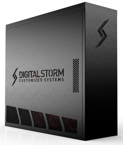 Digital Storm Aventum series Gaming PCs with Cryo-TEC Cooling System angle