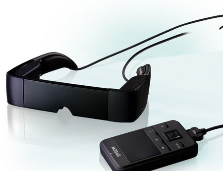 Epson Moverio BT-100 Android See-Through Wearable Display 1