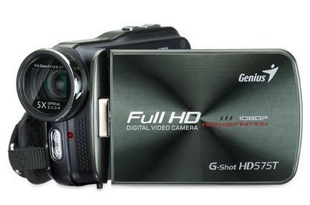 Genius G-Shot HD575T Full HD Camcorder 1