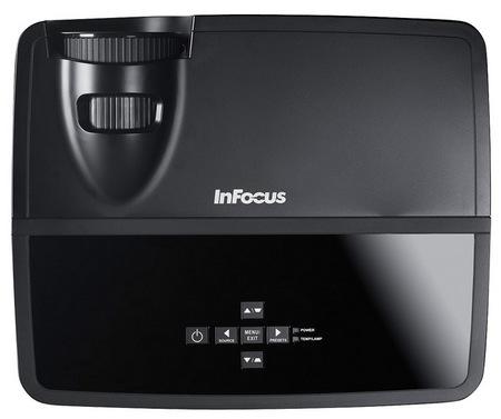 InFocus IN122 and IN124 DLP Projectors top