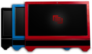 Maingear Solo 21 All-in-one PC colors