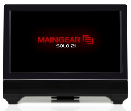 Maingear Solo 21 All-in-one PC front