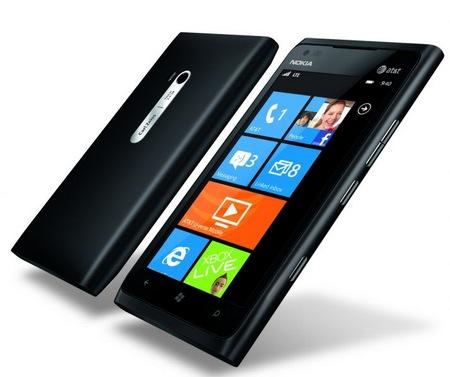 Nokia Lumia 900 Windows Phone black