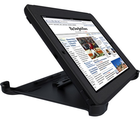 OtterBox Defender Series iProtection Case for new iPad landscape stand