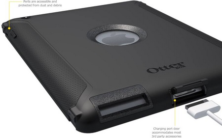 OtterBox Defender Series iProtection Case for new iPad ports