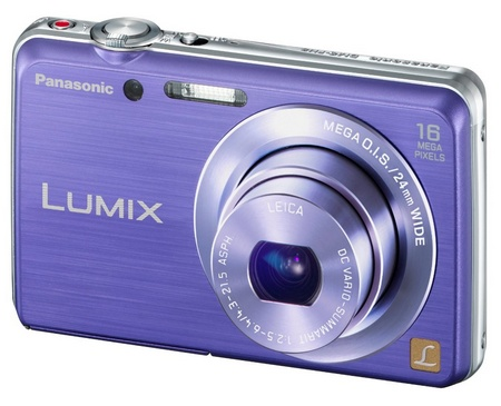 Panasonic LUMIX DMC-FH8 slim digital camera violet