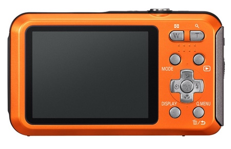 Panasonic LUMIX DMC-TS20 Entry-level Rugged Camera back