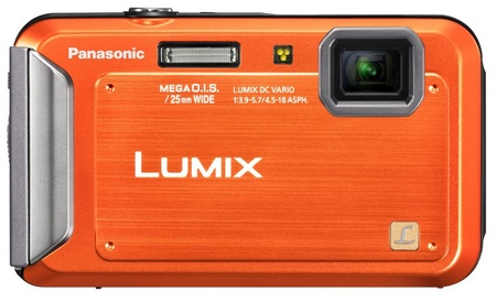 Panasonic LUMIX DMC-TS20 Entry-level Rugged Camera orange