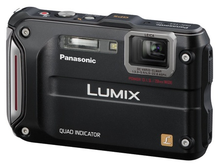 Panasonic LUMIX DMC-TS4 Rugged Camera with GPS black
