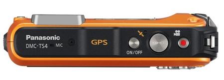 Panasonic LUMIX DMC-TS4 Rugged Camera with GPS top