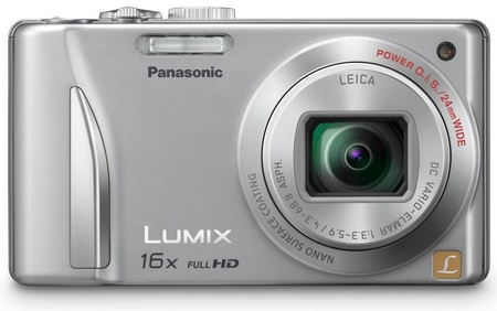 Panasonic LUMIX DMC-ZS15 16x Zoom Camera front silver