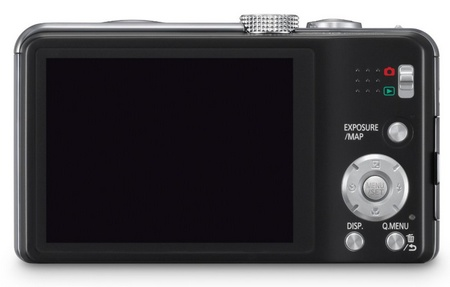 Panasonic LUMIX DMC-ZS20 20x Zoom Camera back