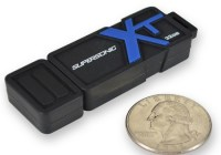 Patriot Memory Supersonic Boost XT Rugged USB 3.0 Flash Drive size