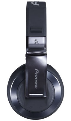 Pioneer HDJ-2000-K Professional DJ Headphones Now in Black Chrome side
