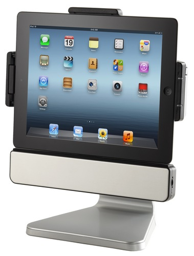 SMK-Link PadDock 10v2 iPad Stand and Speaker System for new iPad