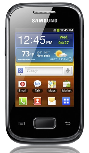 Samsung Galaxy Pocket Affordable Entry-level Smartphone front