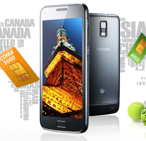 Samsung Galaxy S II DUOS Dual-network, Dual-standby Smartphone for China Telecom