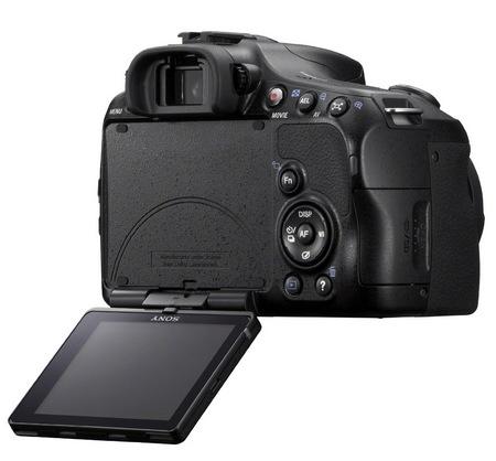 Sony Alpha A65 Translucent Mirror Camera display