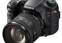 Sony Alpha A77 Translucent Mirror Camera with SAL1650