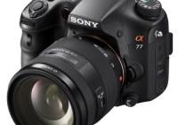 Sony Alpha A77 Translucent Mirror Camera with SAL1650