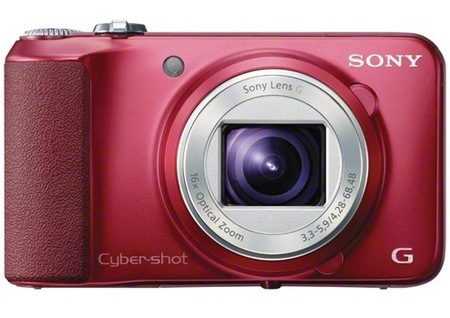 Sony Cyber-shot DSC-H90 16x Zoom Camera red