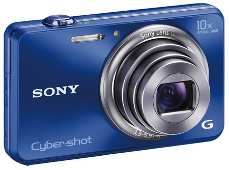 Sony Cyber-shot DSC-WX150 Thinnest 10x Optical Zoom Camera blue